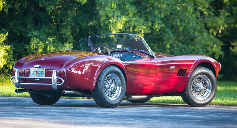 A 1965 Shelby 289 Cobra Roadster is heading to auction (3)