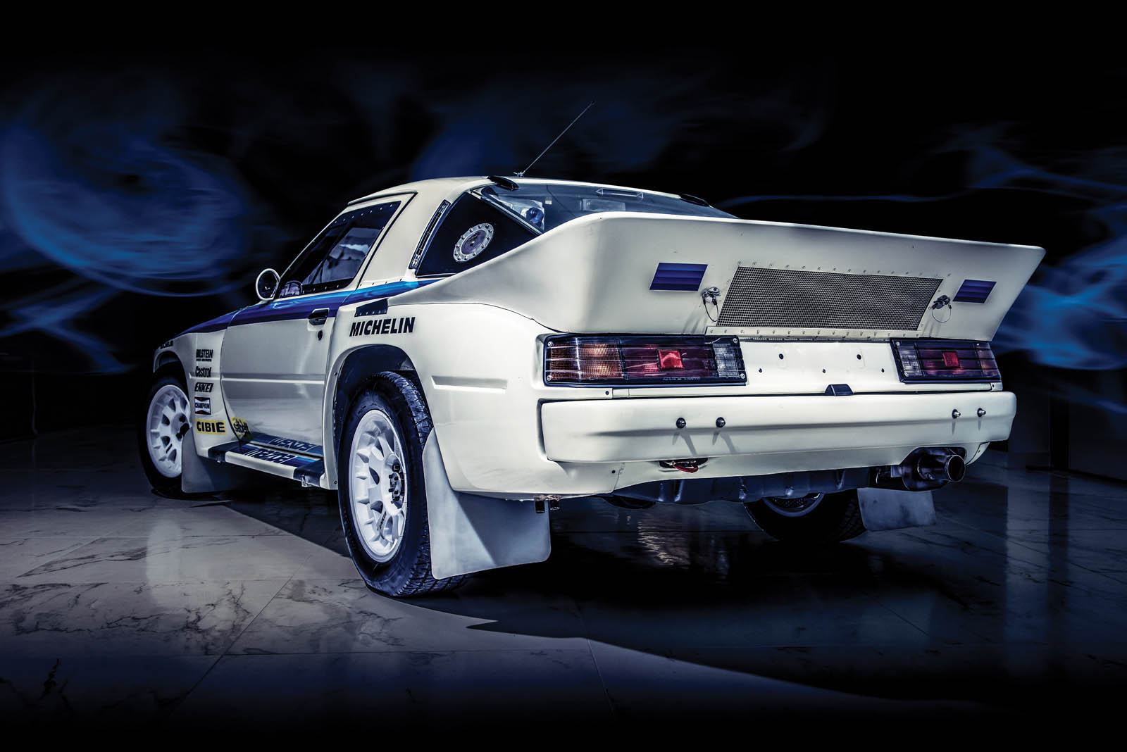A beautiful 1985 Mazda RX-7 Evo Group B is heading to auction (2)