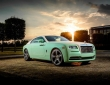 A green Rolls-Royce Wraith (1)