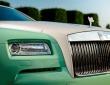 A green Rolls-Royce Wraith (2)