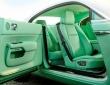 A green Rolls-Royce Wraith (3)