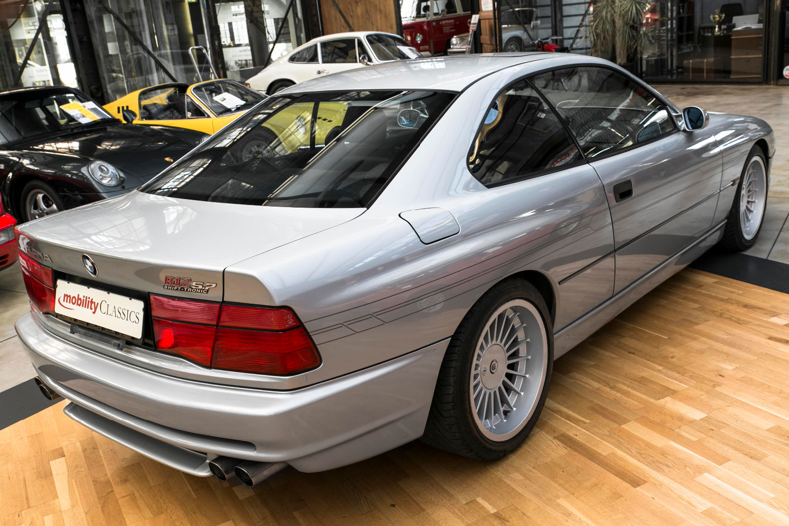 A very rare Alpina B12 5.7 is up for sale