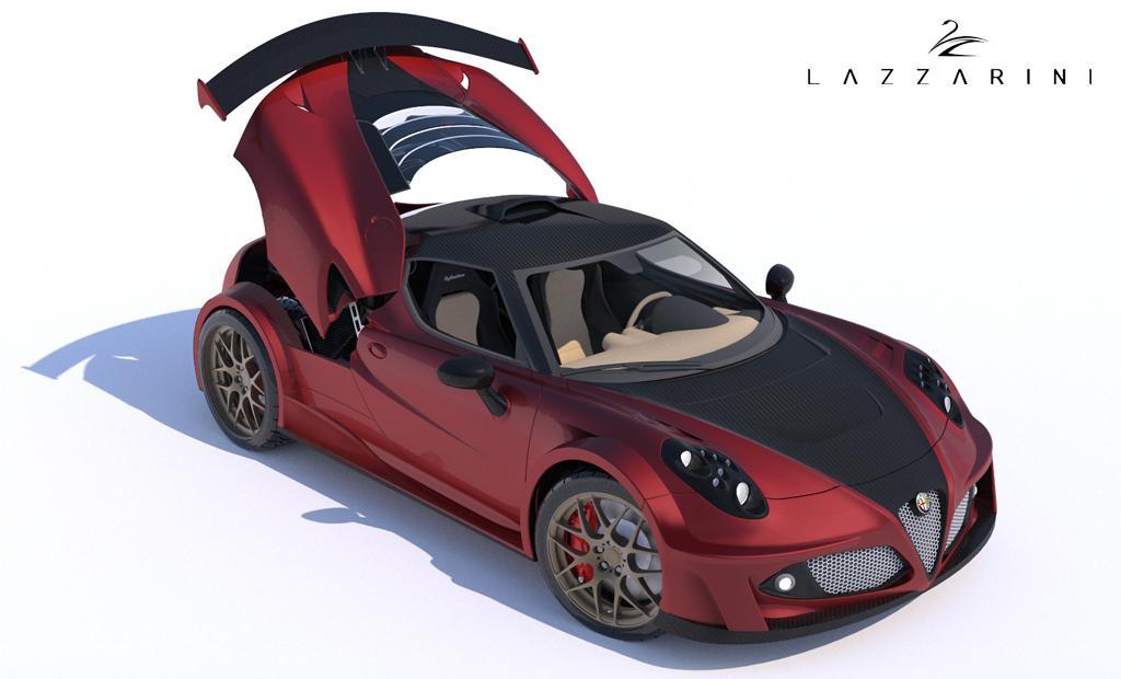Alfa Romeo 4c Quarter Mile >> Alfa Romeo 4C by Lazzarini Design