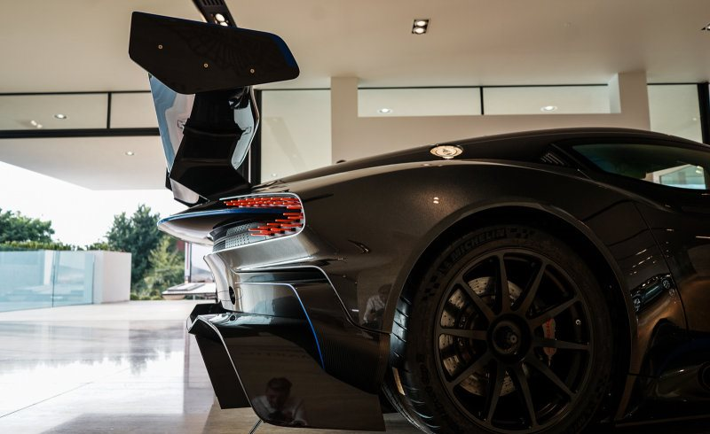 An Aston Martin Vulcan is up for sale (2)