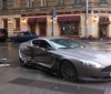 Aston Martin DB9 crash in Russia (1)