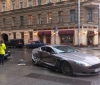 Aston Martin DB9 crash in Russia (2)