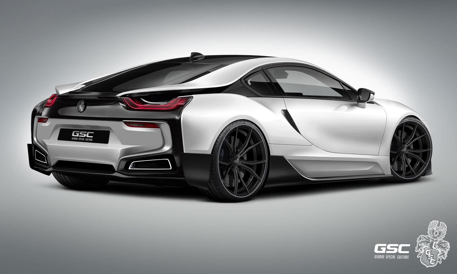 bmw i8 itron by german special customs. Black Bedroom Furniture Sets. Home Design Ideas