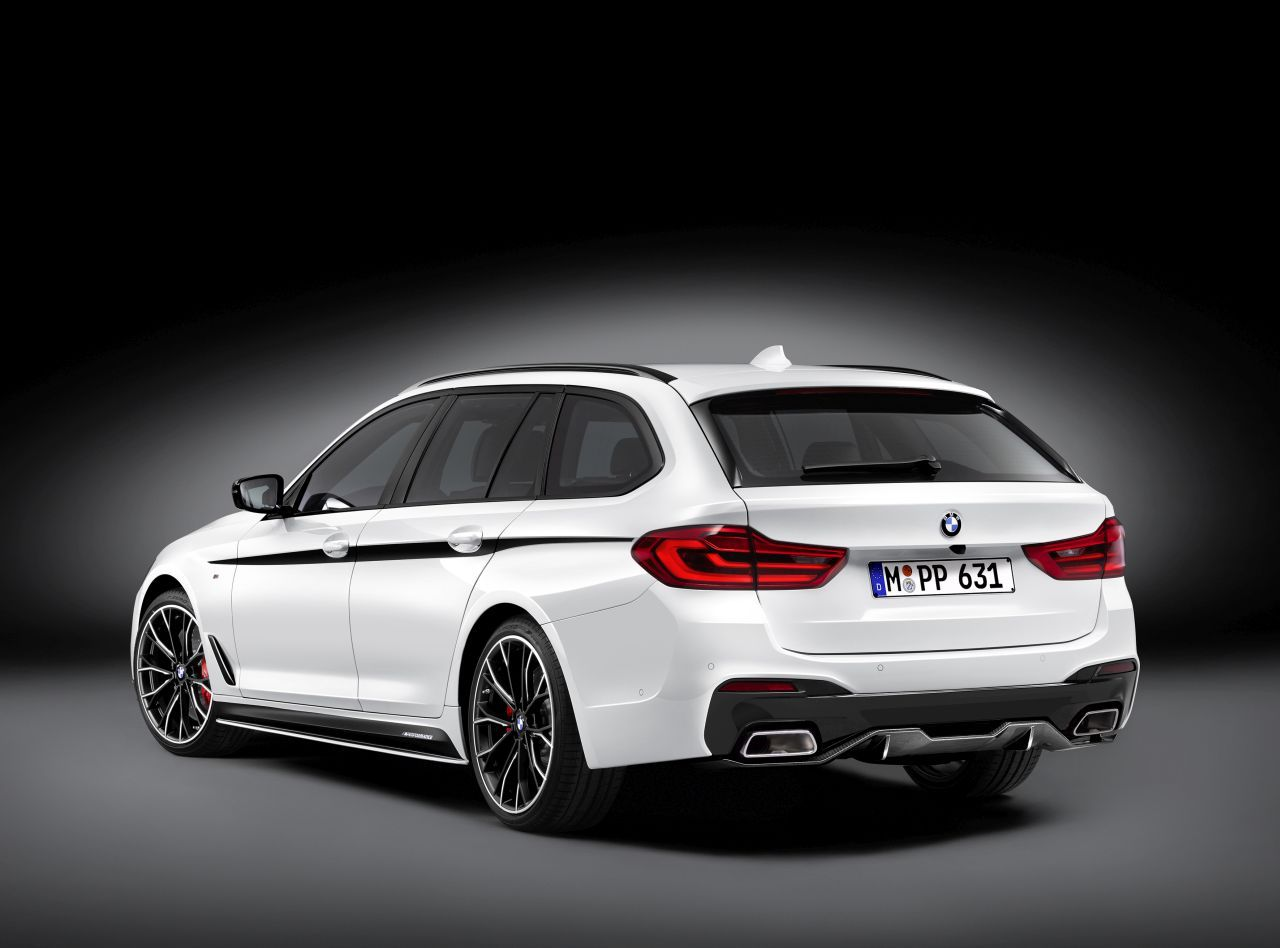 BMW presented the M Performance parts of the 5-Series Touring (3)