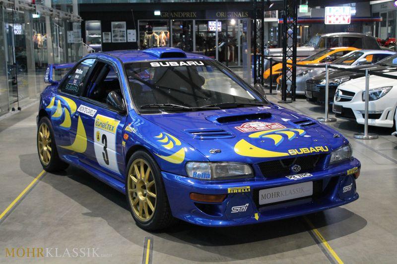 Colin McRae's Subaru Impreza WRC is up for sale (1)
