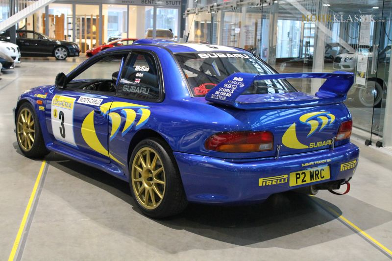 Colin McRae's Subaru Impreza WRC is up for sale (2)
