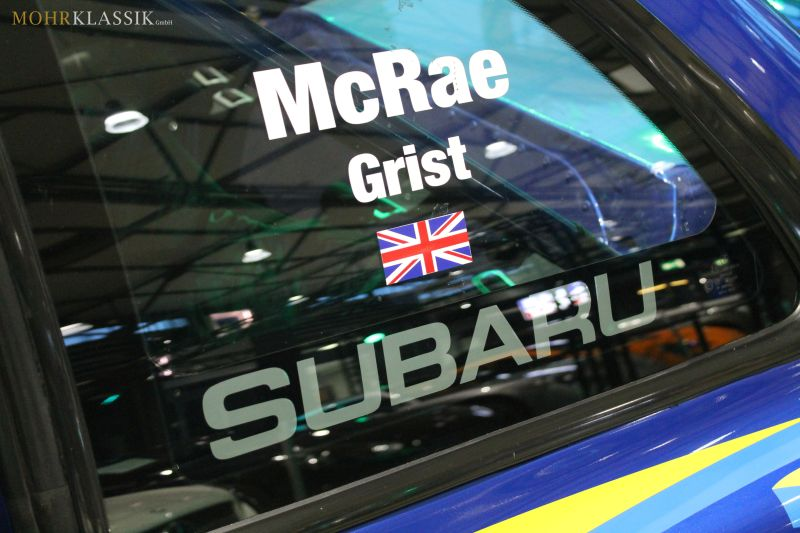 Colin McRae's Subaru Impreza WRC is up for sale (3)