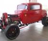 Custom 1932 Ford with a Twin Turbo Ferrari V8 engine (2)