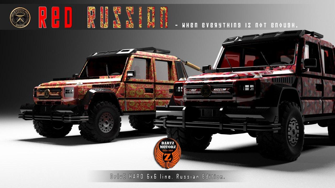 Dartz G63 Red Russian