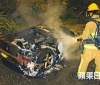 Ferrari 360 Modena burns down in Hong Kong (2)