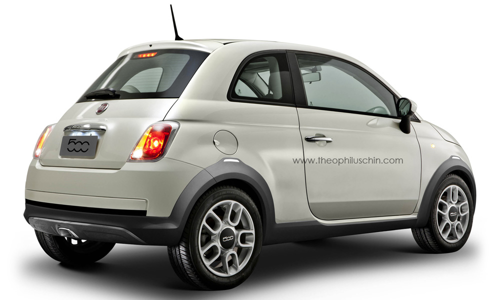 fiat 500 crossover. Black Bedroom Furniture Sets. Home Design Ideas