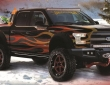 Four Ford F-150 at SEMA (3)