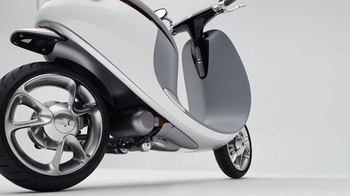 Gogoro A Scooter With A Futuristic Design