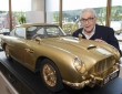 Gold plated Aston Martin db5 scale model goes to auction (1)