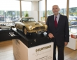 Gold plated Aston Martin db5 scale model goes to auction (5)