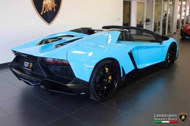 Lamborghini Aventador Roadster 50th Anniversary For Sale