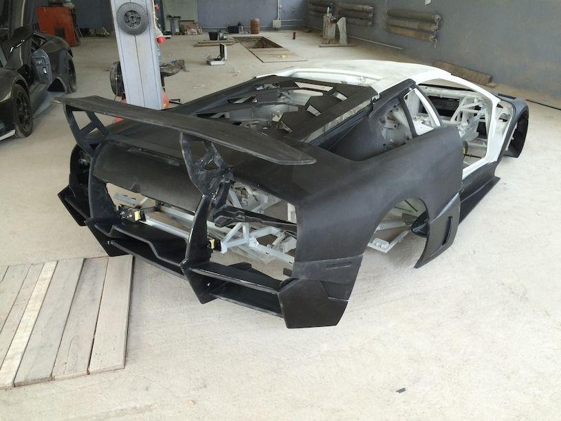 Lamborghini Murcielago Lp670 Sv Chassis And Body For Sale