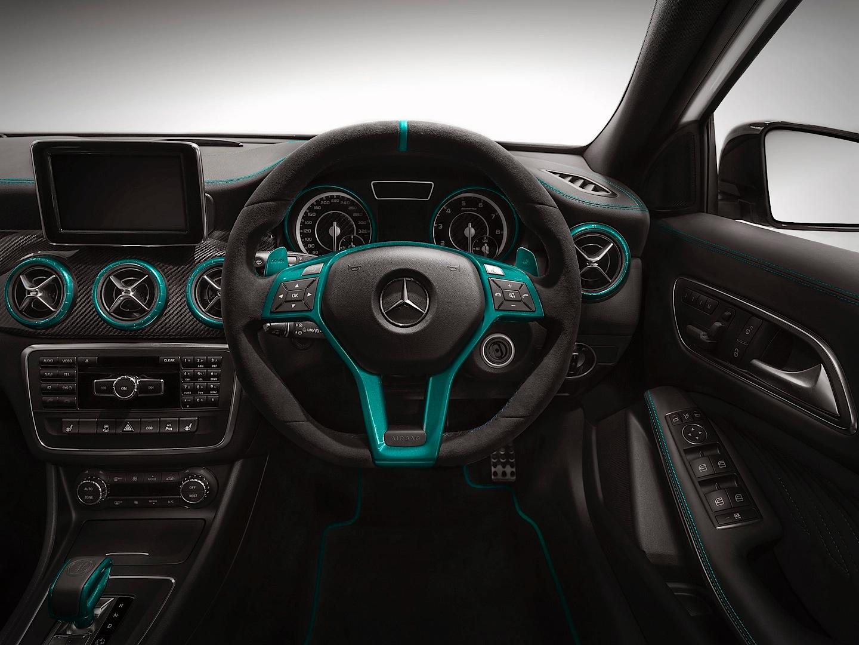 Mercedes benz a45 amg petronas green edition for Mercedes benz amg petronas