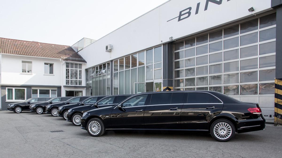 mercedes benz e class limousine from binz. Black Bedroom Furniture Sets. Home Design Ideas