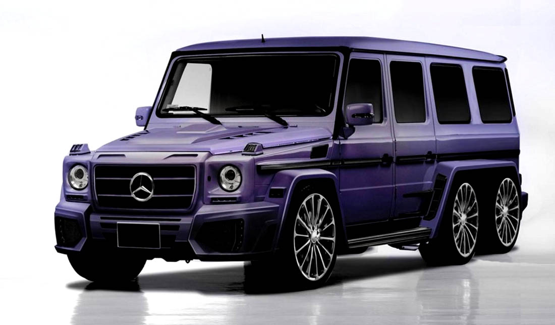 mercedes benz g class by newport convertible engineering