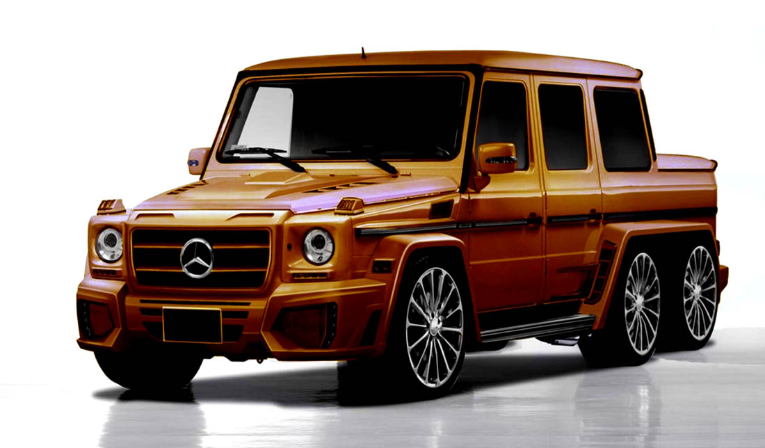 Mercedes benz g class by newport convertible engineering for Mercedes benz g class cabriolet