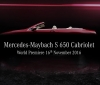 Mercedes-Maybach S650 Cabriolet heading to Los Angeles auto show (1)