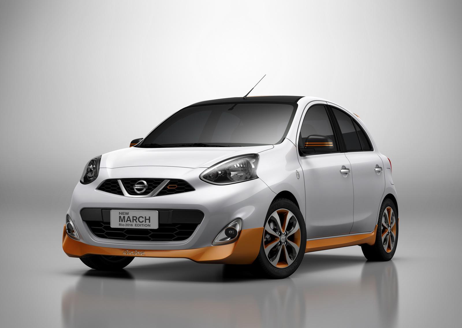 Nissan March Rio Olympics 2016 Edition