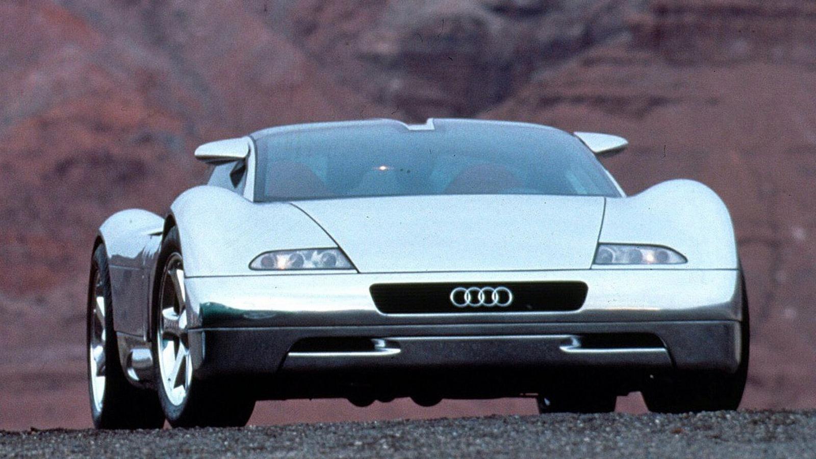 Old Concept Cars Audi Avus Quattro