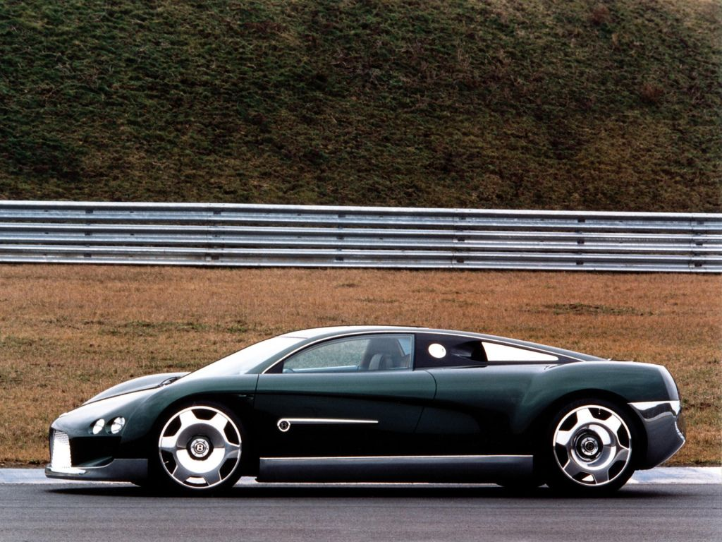 Old Concept Cars: Bentley Hunaudieres