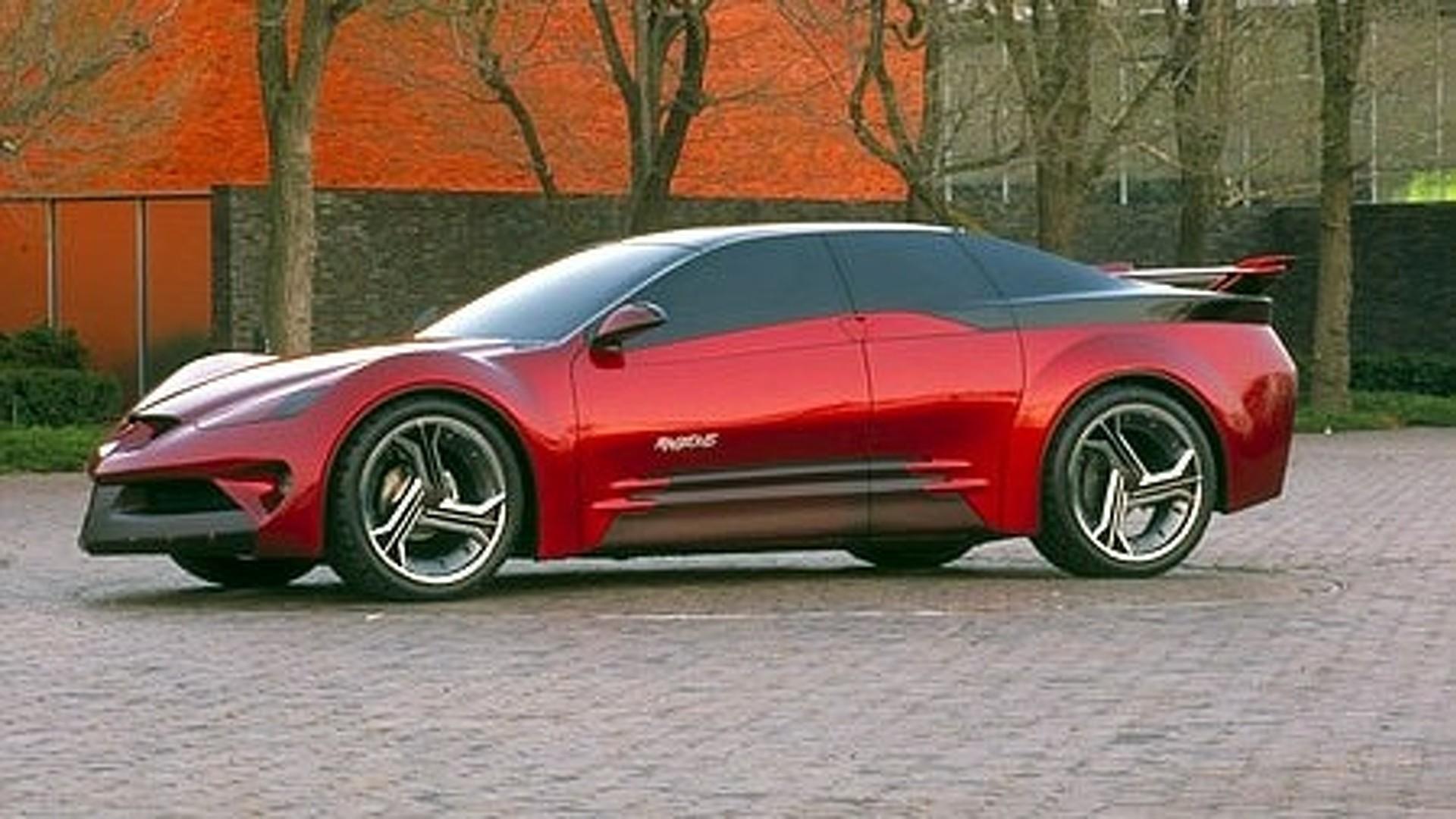 Old Concept Cars: Pontiac Rageous