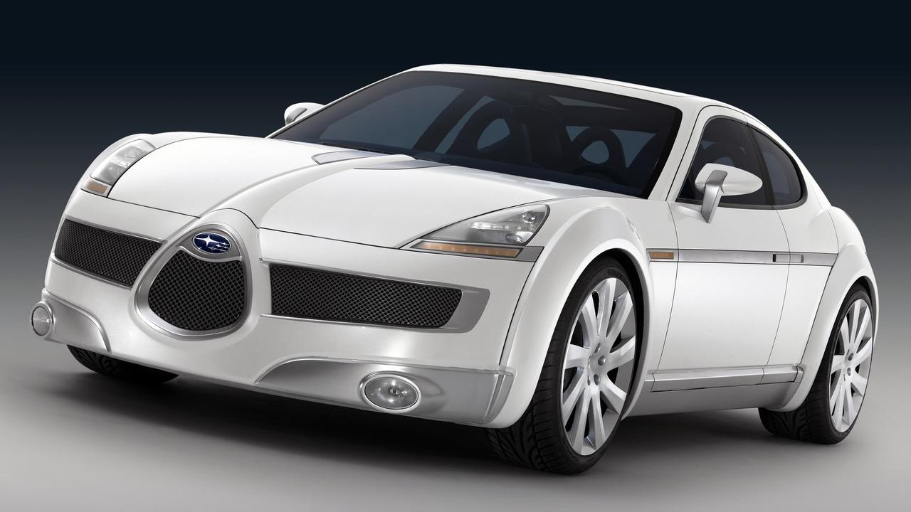 Old Concept Cars: Subaru B11S