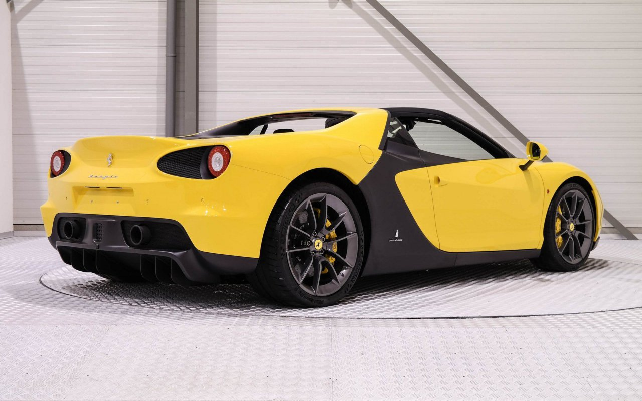 One of the Six Ferrari Sergio is up for sale (2)