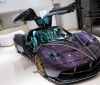 Pagani presented a purple Huayra Dinastia (1)