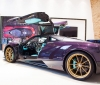 Pagani presented a purple Huayra Dinastia (3)
