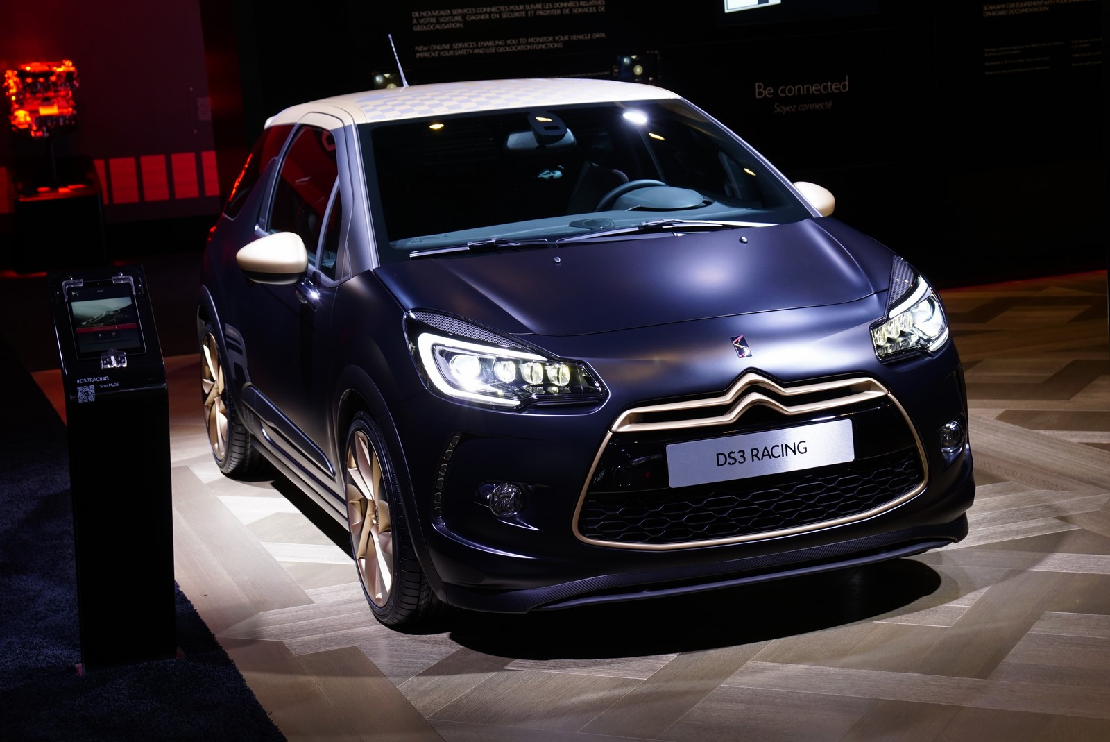 paris motor show 2014 ds3 facelift. Black Bedroom Furniture Sets. Home Design Ideas