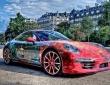Porsche 911 car art (1)