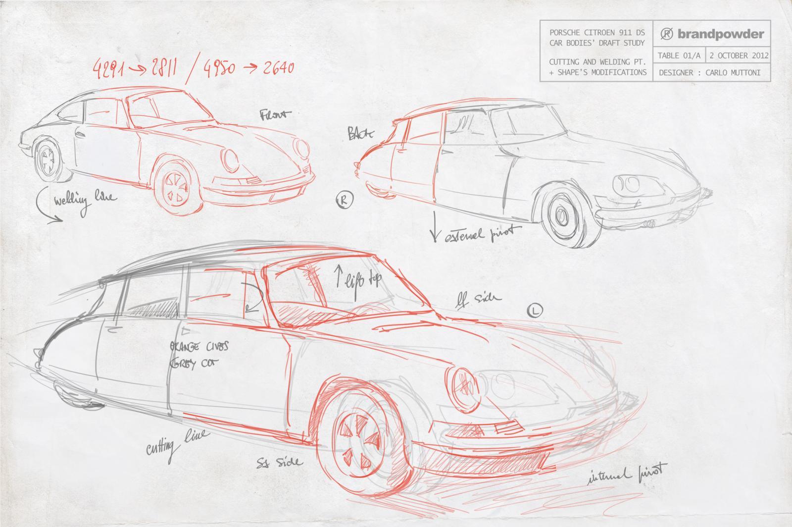 Porsche Citroen Ds Porsche Ds