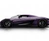 Purple Koenigsegg Regera, paying tribute to Prince (2)