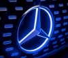 Teaser photos of the autonomous car of Mercedes-Benz (1)