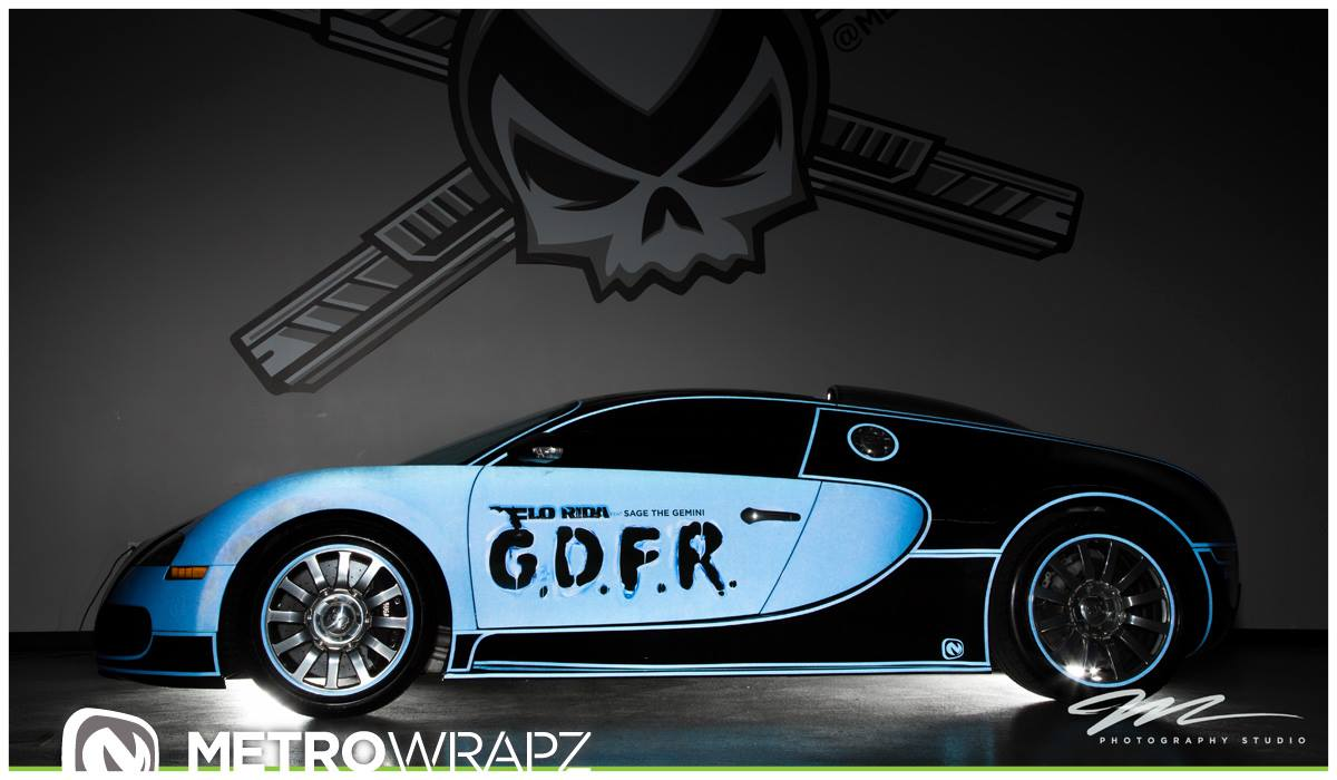 The Bugatti Veyron Of Flo Rida