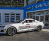 Chevrolet announces Friday, February 24, 2017 that three-time Daytona 500 winner and four-time Monster Energy NASCAR Cup Series champ Jeff Gordon will lead the field to the start of Sunday's Daytona 500 behind the wheel of the new 2017 Camaro ZL1 pace car at Daytona International Speedway in Daytona Beach, Florida. (Photo by HHP/Harold Hinson for Chevy Racing)