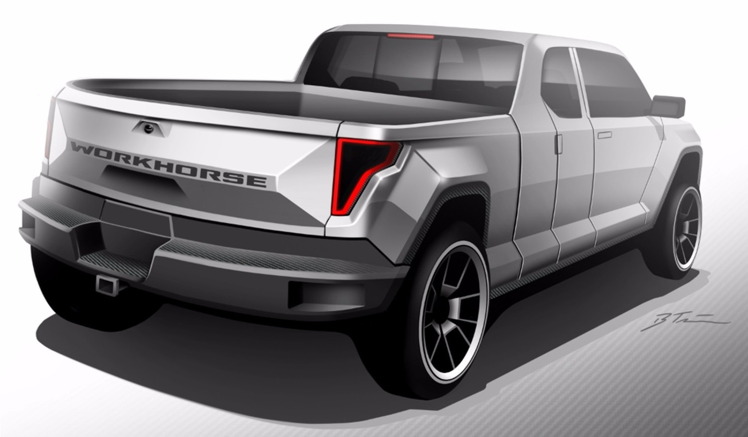 Workhorse Is Preparing A Plug In Hybrid Pickup Truck 2