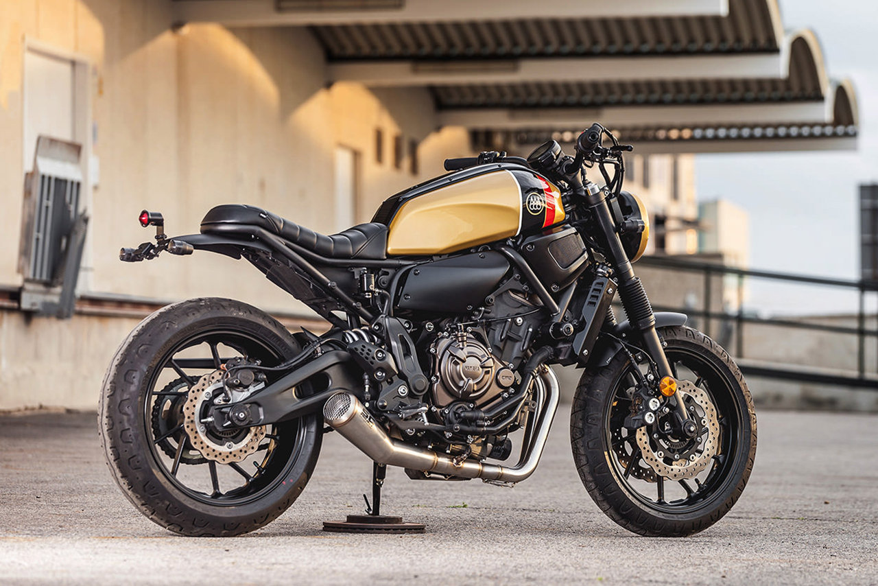 Yamaha Xsr700 By Macco Motors