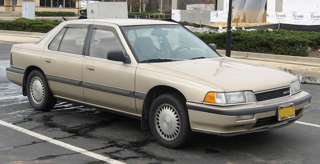 1986 Acura Legend Specifications