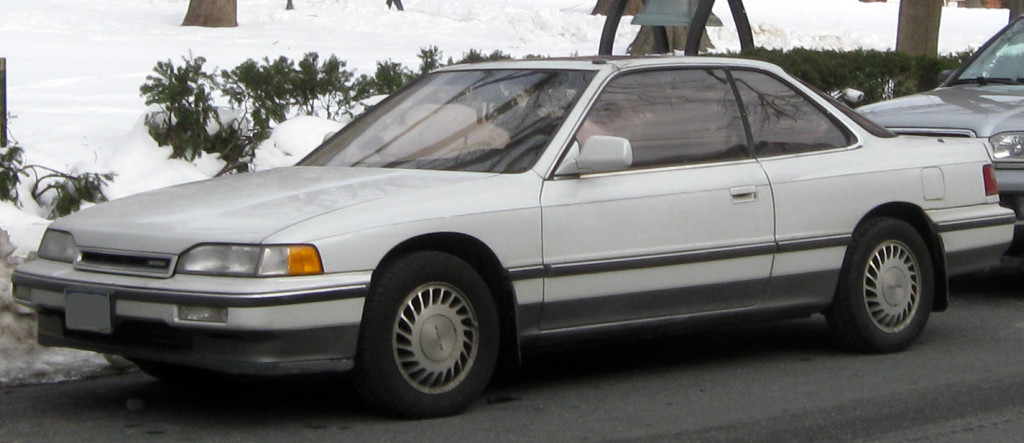 1987 Acura Legend Coupe Specifications