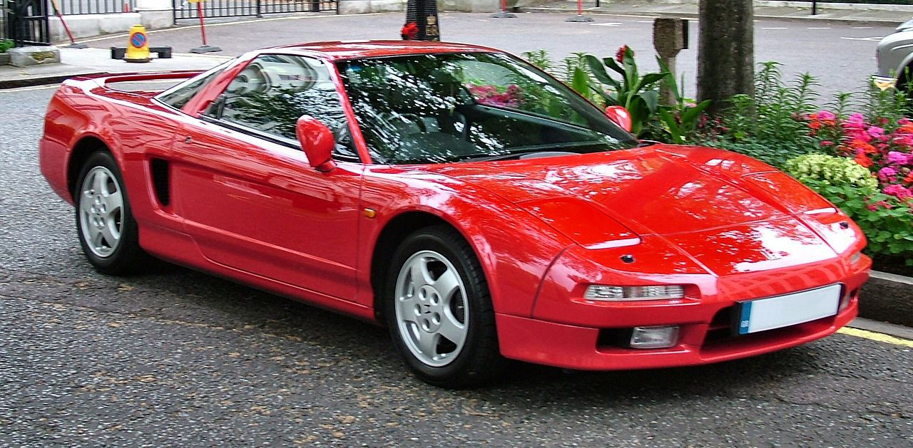 1991 Acura NSX Manual Specifications